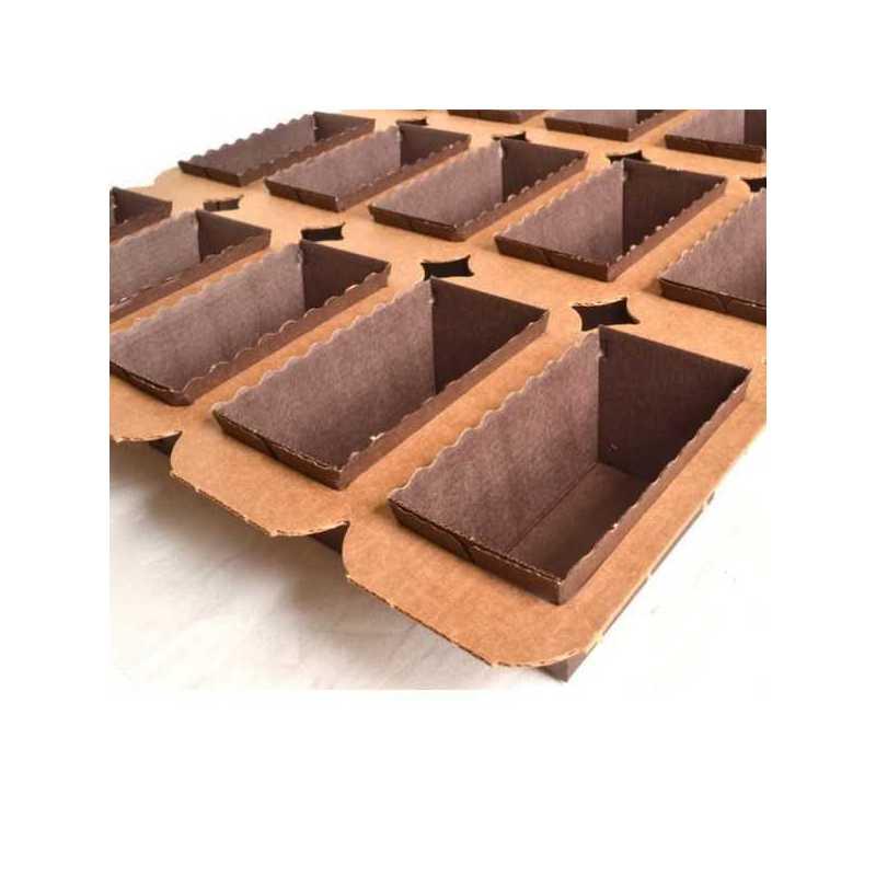 Moule de cuisson professionnel en papier pour gâteaux et pâtisseries