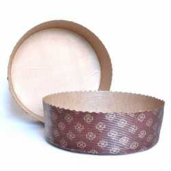 Moule de cuisson à panettone pour vos pains spéciaux, vos pains boules, vos savarins ou vos gâteaux, pour boulangeries et pâtiss