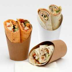 EMBALLAGE SNACKS POT ROND CARTON WRAPS