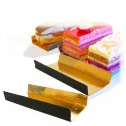 Fond carton pliés double face pour gâteaux et pâtisseries