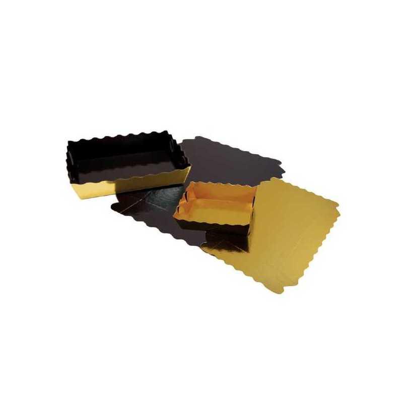 Caissette Ondine Dentelée, Emballage pour boulangerie pâtisserie