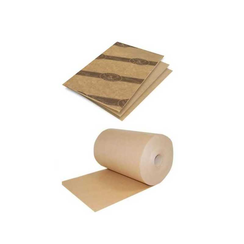 Emballage alimentaire Papier écologique Kraft Brun Alios