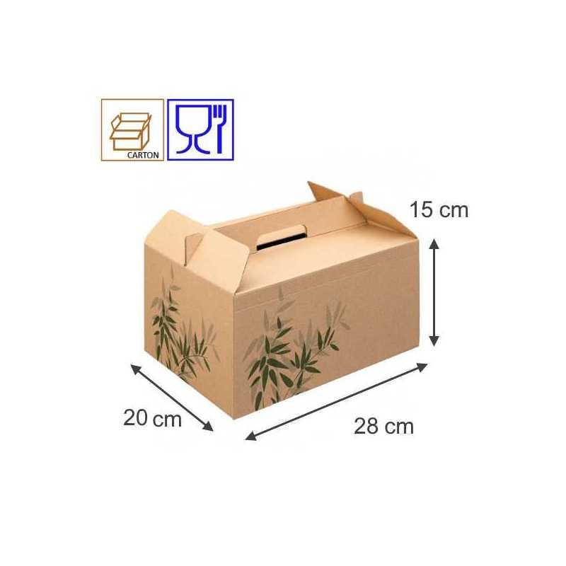 Lunch Box, emballage vente à emporter, restauration rapide, snacks