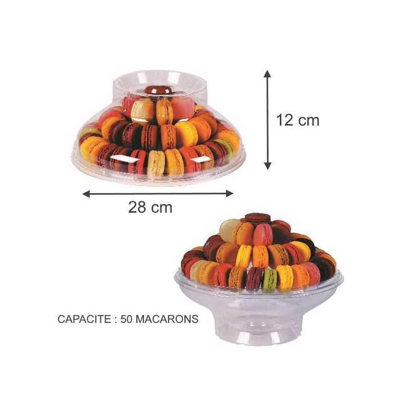 Présentoirs à macarons , une pyramide pour sublimer vos pâtisseries