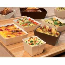 Moules de cuisson Easy Bake, emballage pour Pâtisserie et Boulangerie