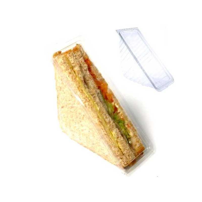 Emballage plastique Coque sandwich club Alphaform Snacks boulangeries