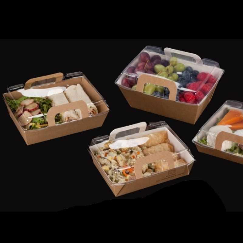 Panier Salade Vision +®, l'emballage alimentaire idéal pour repas