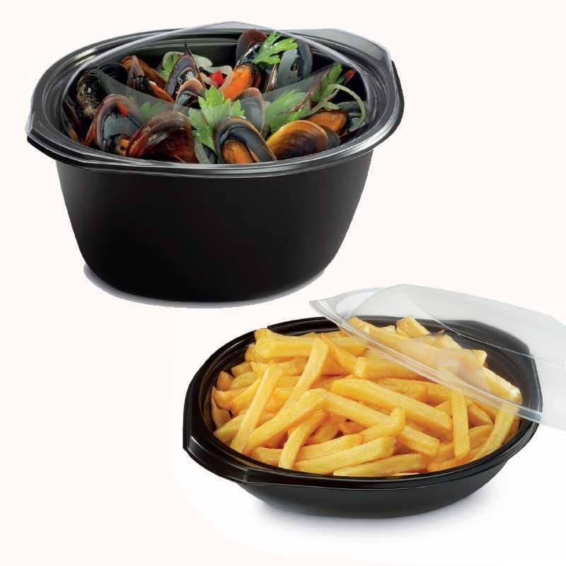 Emballages au format Wok personnalisable pour snacks et traiteurs