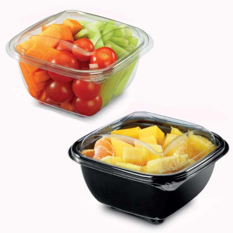 Boite à salade avec ou sans couvercle pour snacking et boulangeries