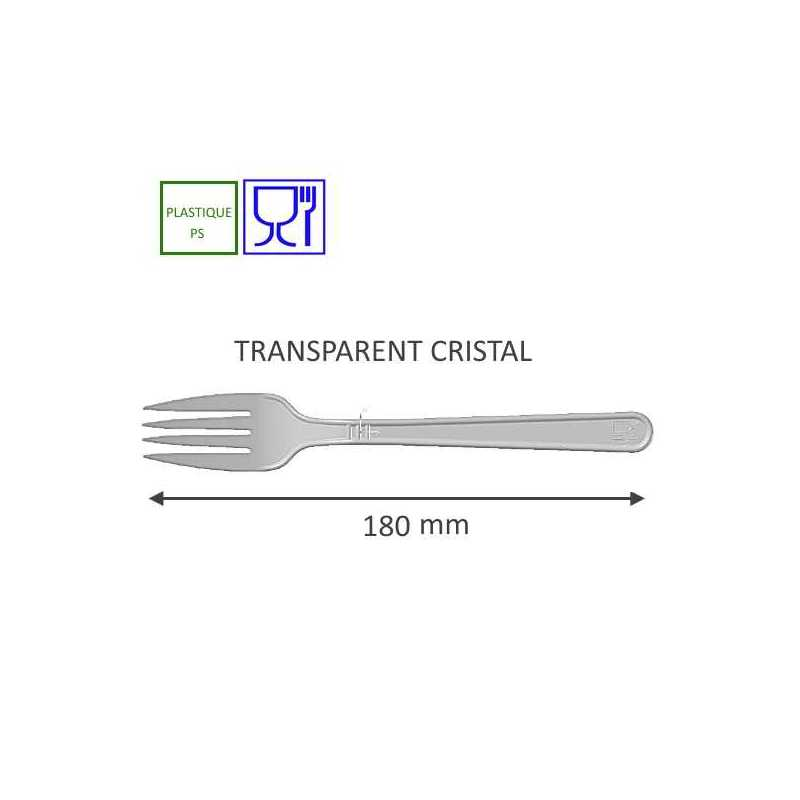 Commande en ligne de couverts plastiques cristal jetables, Snacking, restauration rapide