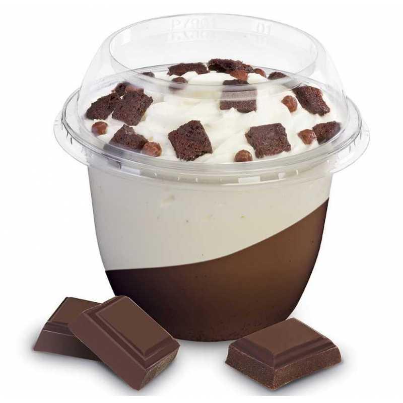 Pot à dessert en plastique avec Insert Delipack à prix imbattable