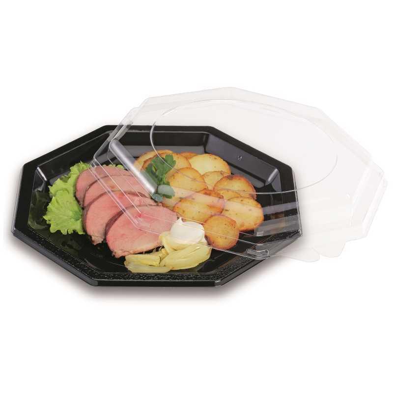 Assiette Plastique Octogonale – Octopack réutilisable, écologique
