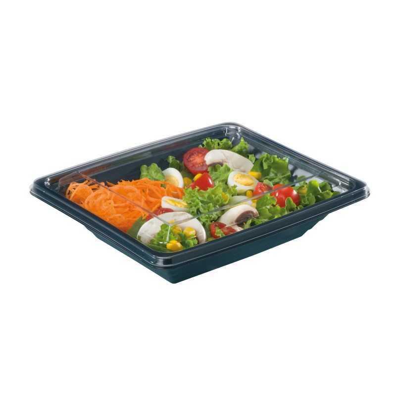 Boite salade Pyramipack, boite plastique transparente, boulangeries
