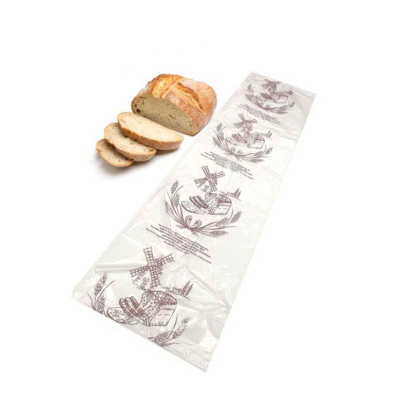 Sac à pain biosourcé et transparent, emballage alimentaire écologique