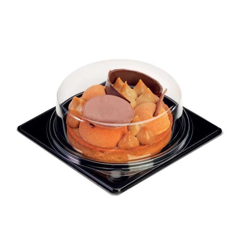 Emballage élégant pour tarte avec couvercle Cristal