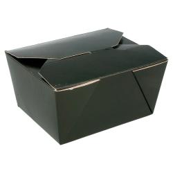 Boites américaines micro-ondable black edition