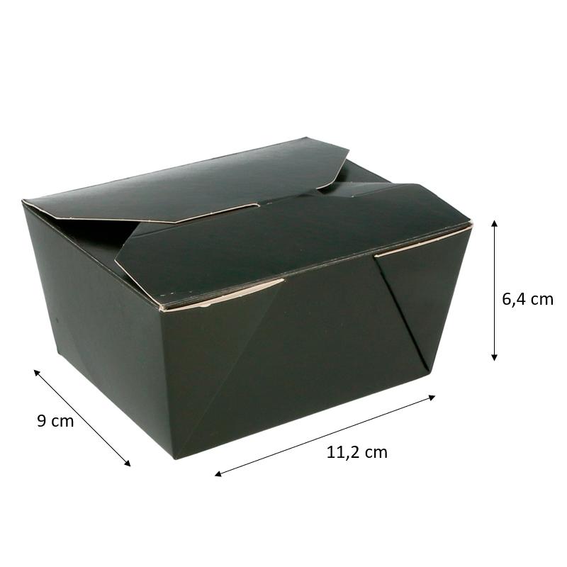 Boites américaines micro-ondable black edition  - 2